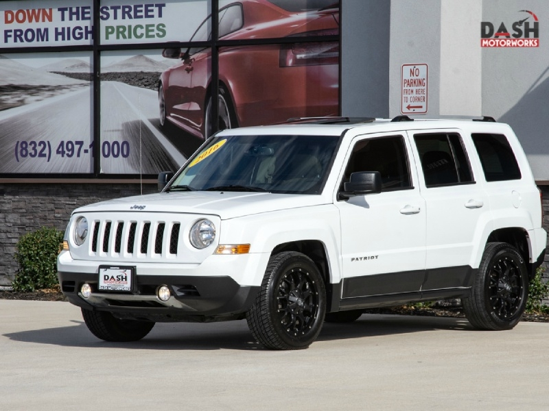 Jeep Patriot High Altitude 4x4 Navigation Sunroof Camer 2016 price $13,599