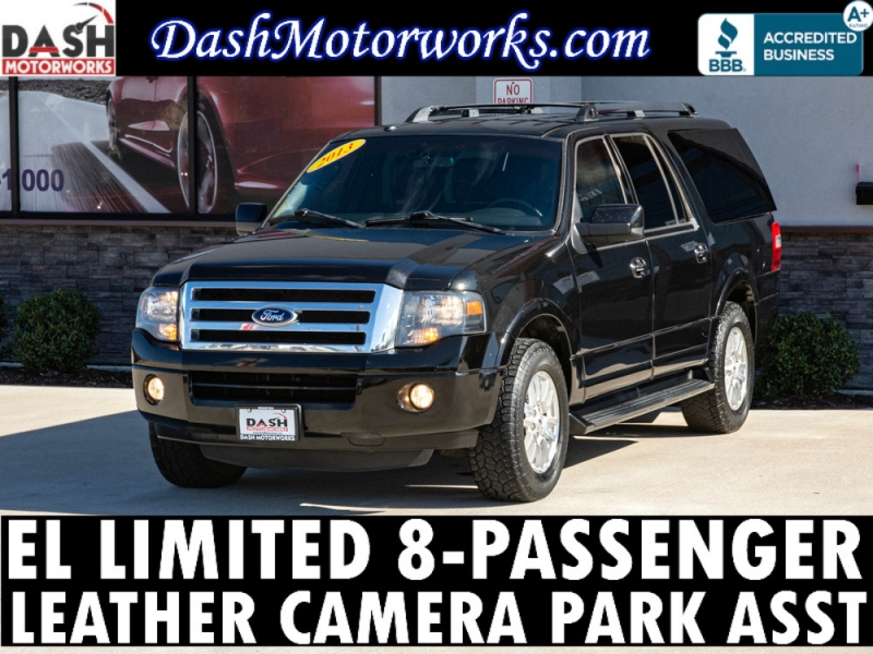 Ford Expedition EL Limited Leather Camera Park Assist 8 2013 price $14,899