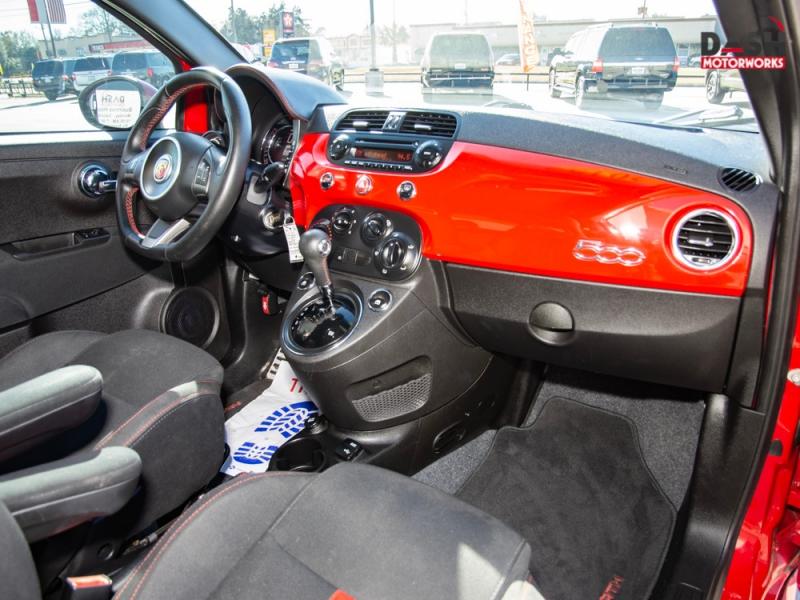 Fiat 500 Abarth Alloys Spoiler Auto 2015 price $9,995