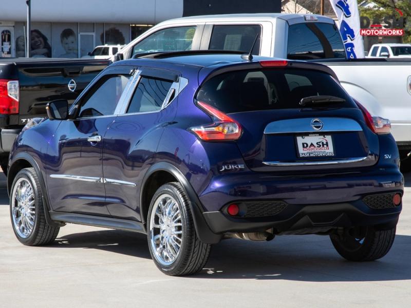 Nissan Juke SV Navigation Sunroof Camera Chrome Auto 2015 price $13,995