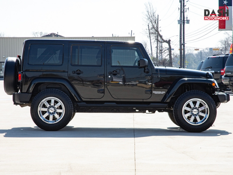 Jeep Wrangler Unlimited Altitude 4WD Navigation Hardtop 2012 price $21,995