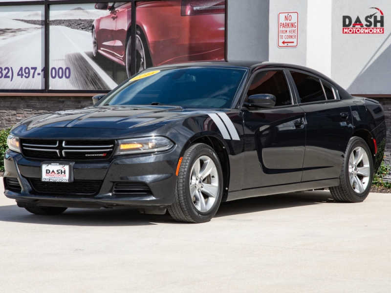 Dodge Charger SE Sedan Keyless Go Park Assist Remote Sta 2015 price $13,799