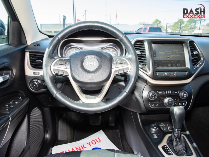 Jeep Cherokee Limited V6 4WD Navigation Camera Leather  2015 price $12,985