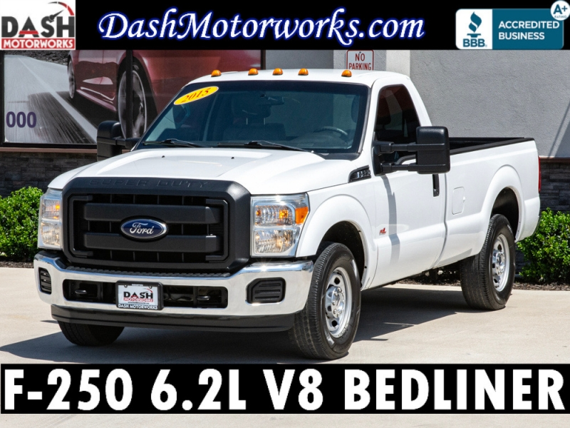 Ford F-250 XL LB Super Duty Reg Cab 6.2L V8 Bedliner 2015 price $15,985