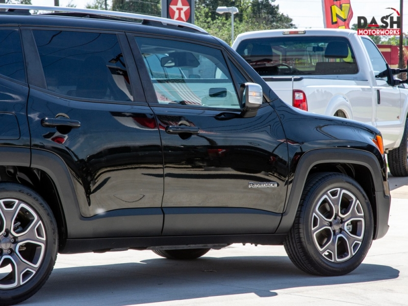 Jeep Renegade Limited Navigation Panoramic Camera Leath 2015 price $16,995