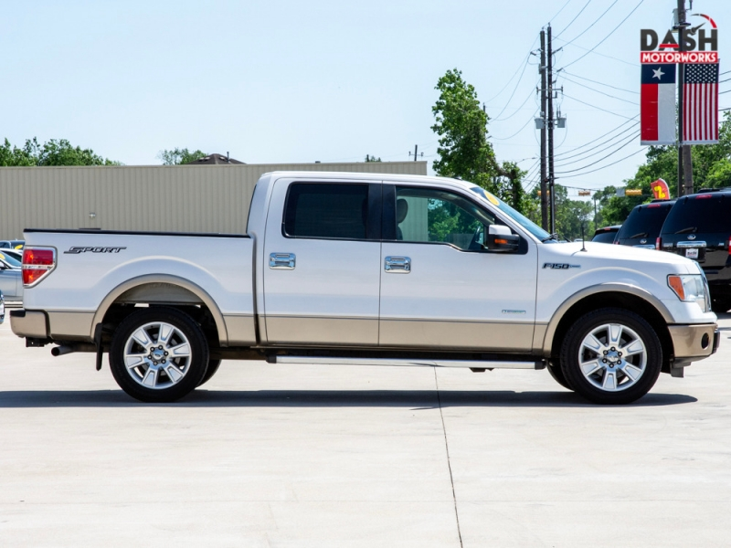 Ford F-150 Lariat SuperCrew 3.5L EcoBoost Leather Bedli 2011 price $16,500