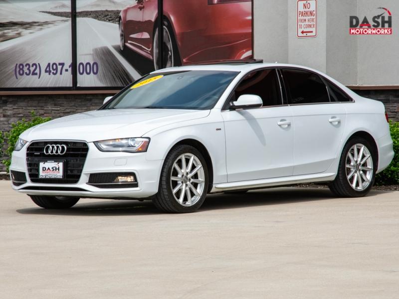 Audi A4 2.0T Premium Plus S-Line Navigation Camera Sunr 2015 price $17,985
