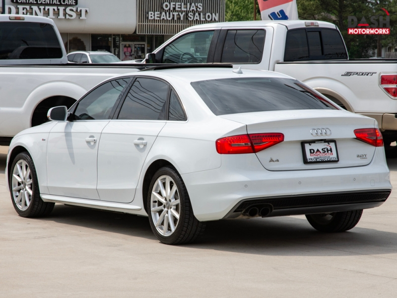 Audi A4 2.0T Premium Plus S-Line Navigation Camera Sunr 2015 price $17,985