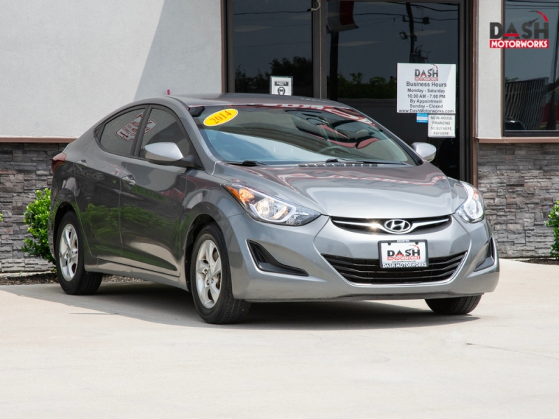 Hyundai Elantra SE Sedan Alloys Auto 2014 price $7,899