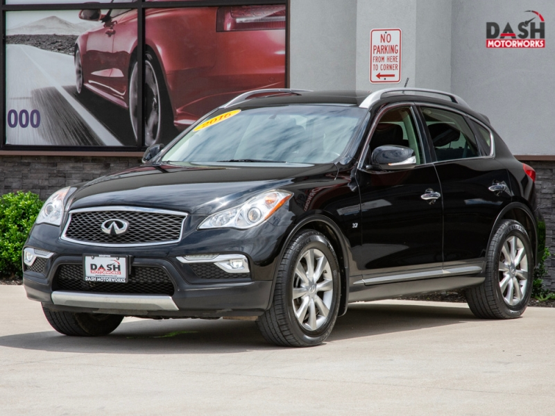 Infiniti QX50 AWD V6 Leather Sunroof Camera Bose 2016 price $19,985