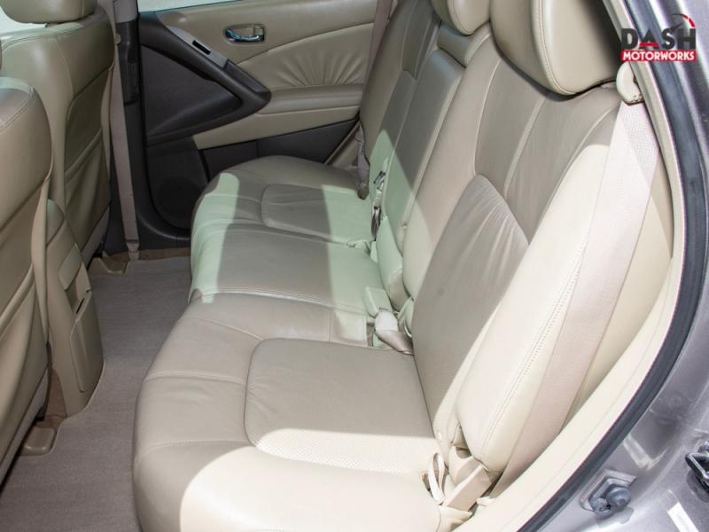 Nissan Murano SL Navigation Panoramic Camera Leather Bose 2009 price $9,985