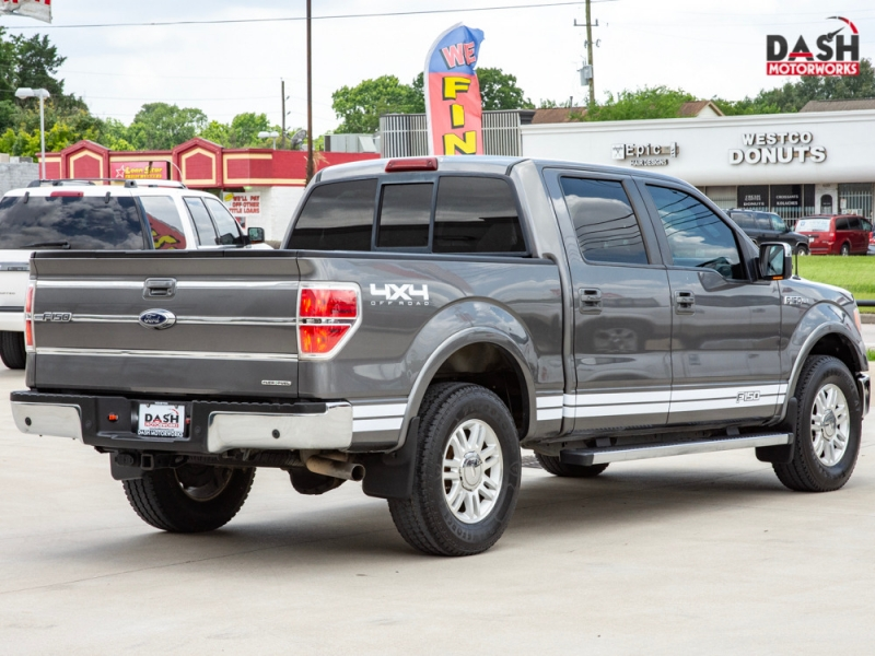 Ford F-150 Lariat SuperCrew 4WD Camera Leather Cooled S 2011 price $21,985