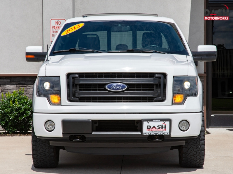 Ford F-150 FX4 SuperCrew 4WD EcoBoost Navigation Sunroo 2013 price $20,500