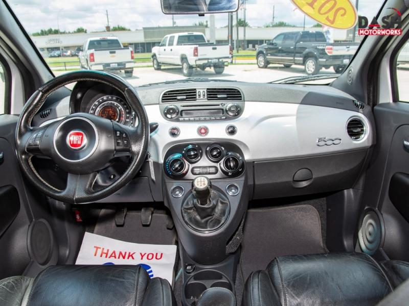 Fiat 500 Sport Hatchback Turbo Leather 5-Speed Manual 2013 price $7,500