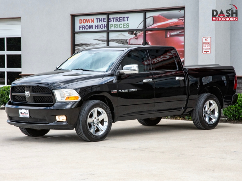 RAM 1500 Express Crew Cab 5.7L V8 Leather Bedcover Chr 2012 price $15,985