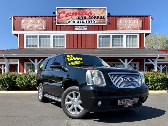 GMC Yukon Denali 2007 price $11,999