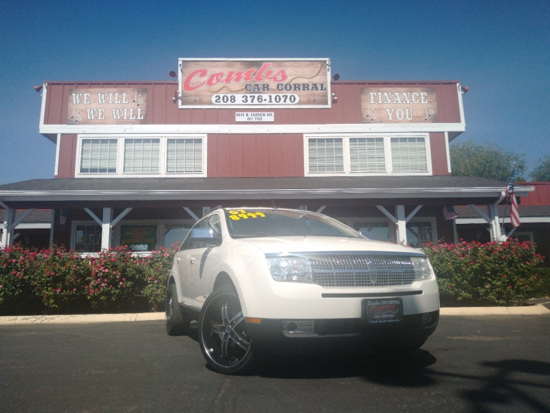 Lincoln MKX 2007 price $8,999