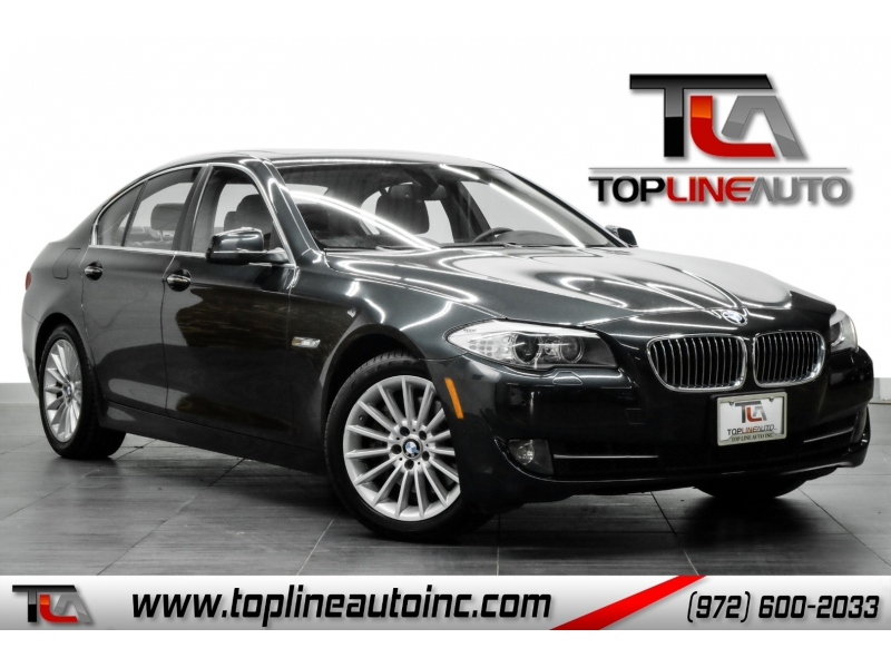 BMW 5-Series 2013 price $12,991