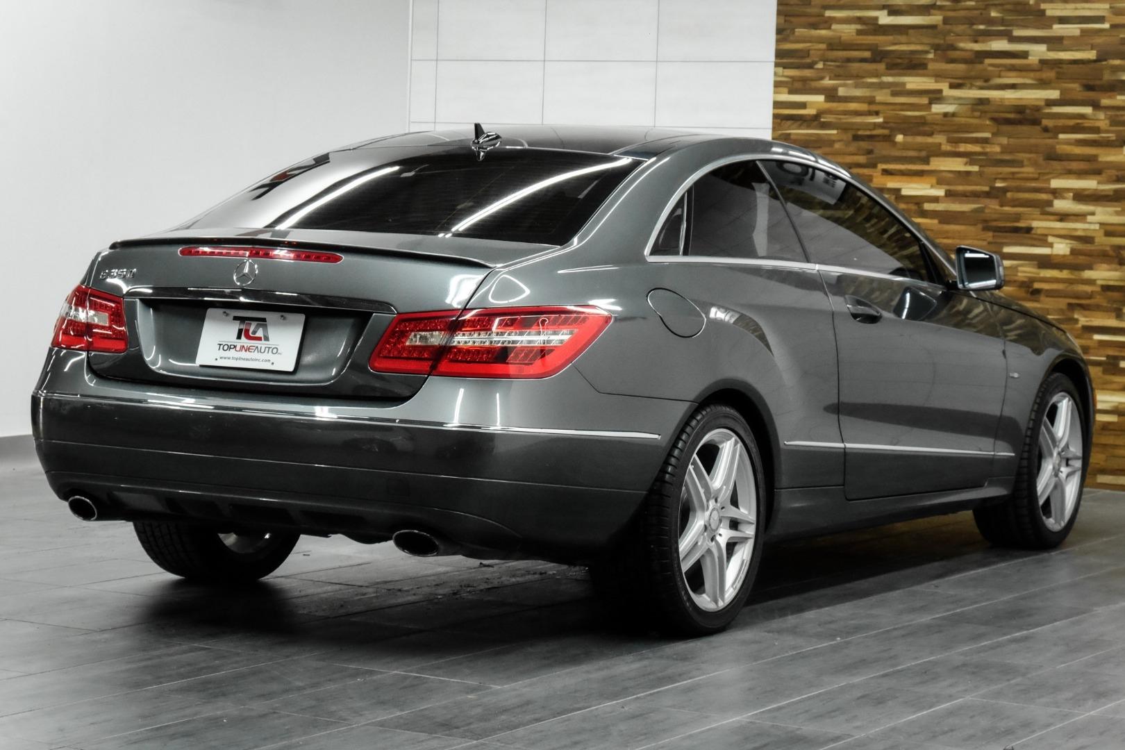 2012 Mercedes-Benz E-Class 2dr Cpe E 350 RWD Top Line Auto Inc.   Auto  dealership in Dallas