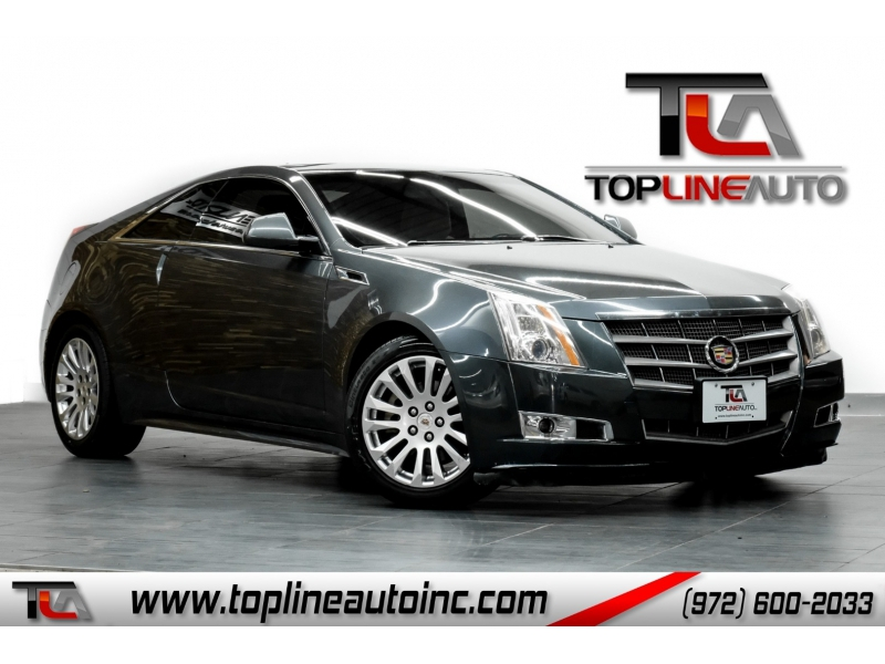 Cadillac CTS Coupe 2011 price $11,491