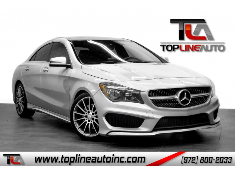 Mercedes-Benz CLA 2016 price $17,691