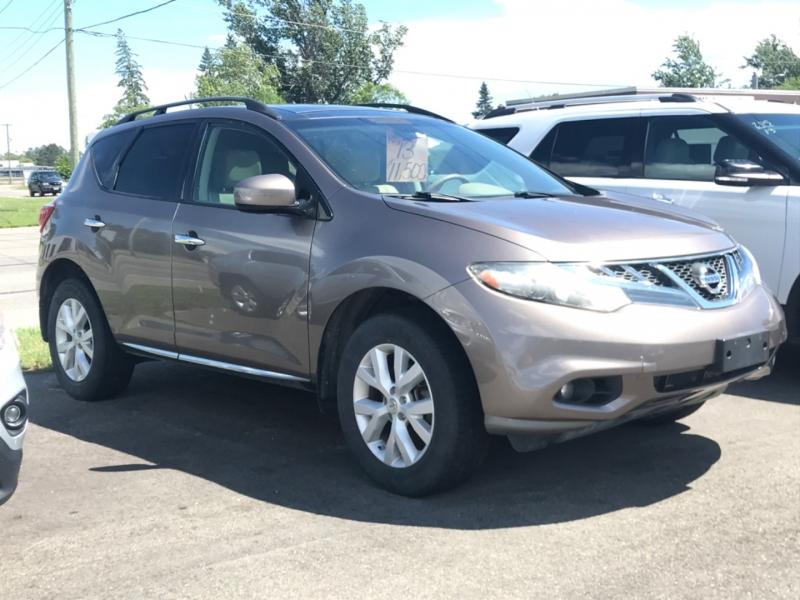 Nissan Murano 2013 price $10,500