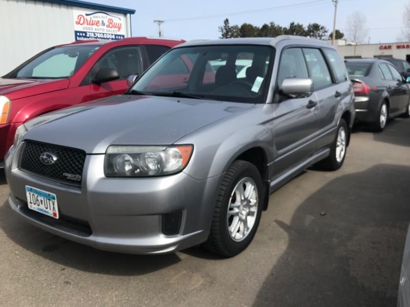 Subaru Forester (Natl) 2008 price $7,450