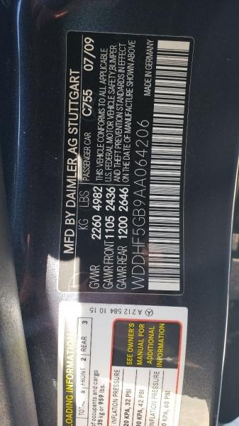 MERCEDES-BENZ E-CLASS 2010 price $14,800