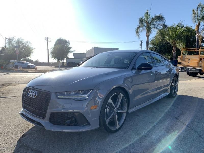 Audi RS7 2017 price $71,500