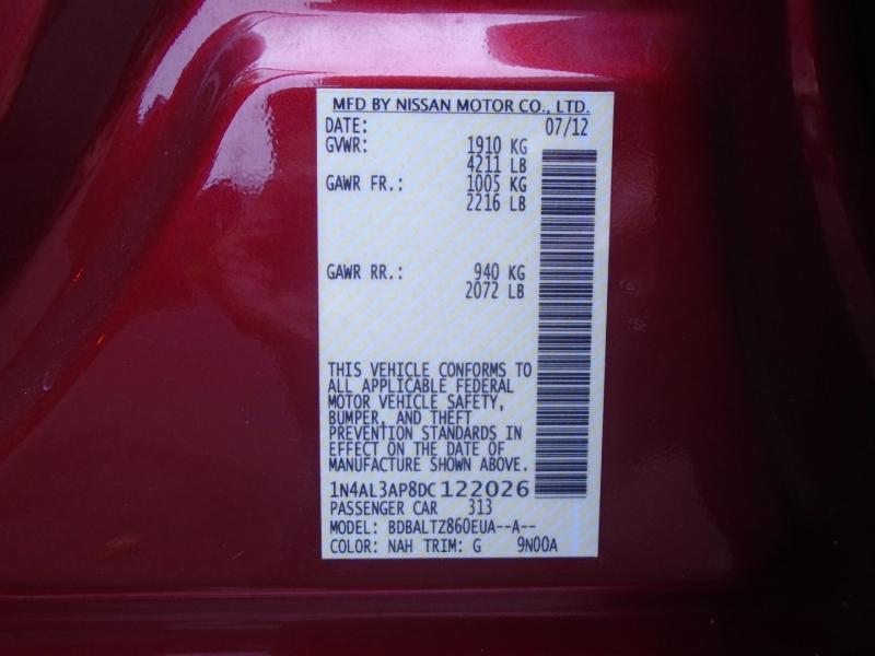 Nissan Altima 2013 price $6,999