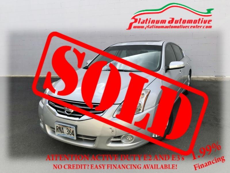 Nissan Altima 2011 price $0
