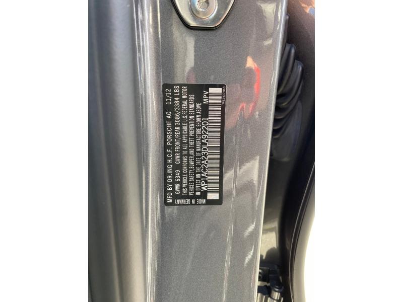 Porsche Cayenne 2013 price $39,750