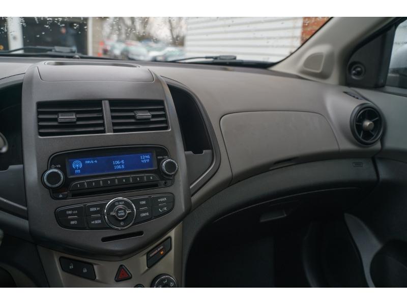 Chevrolet Sonic 2012 price $5,990