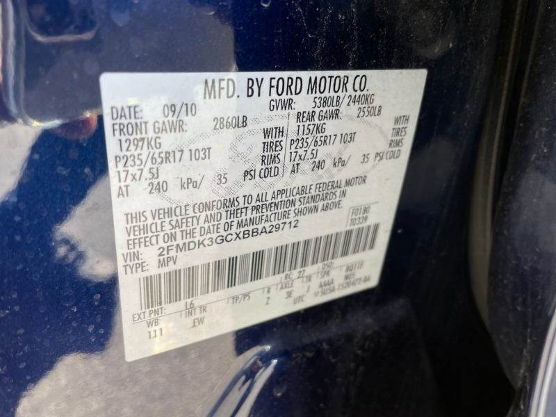 Ford Edge 2011 price $7,690