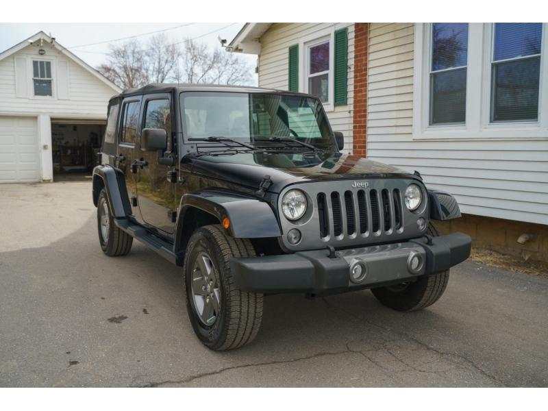 Jeep Wrangler Unlimited 2015 price $23,880