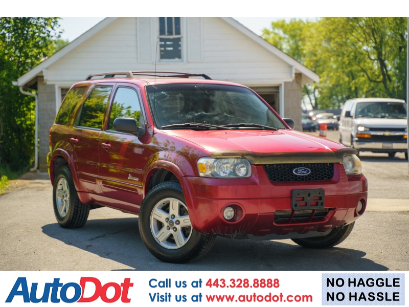 Ford Escape 2007 price $5,770