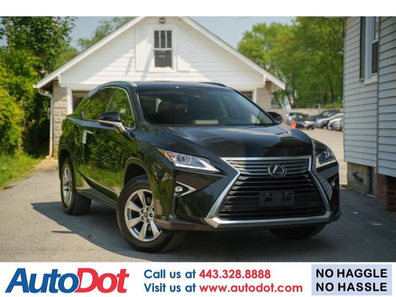 Lexus RX 350 2019 price $41,990