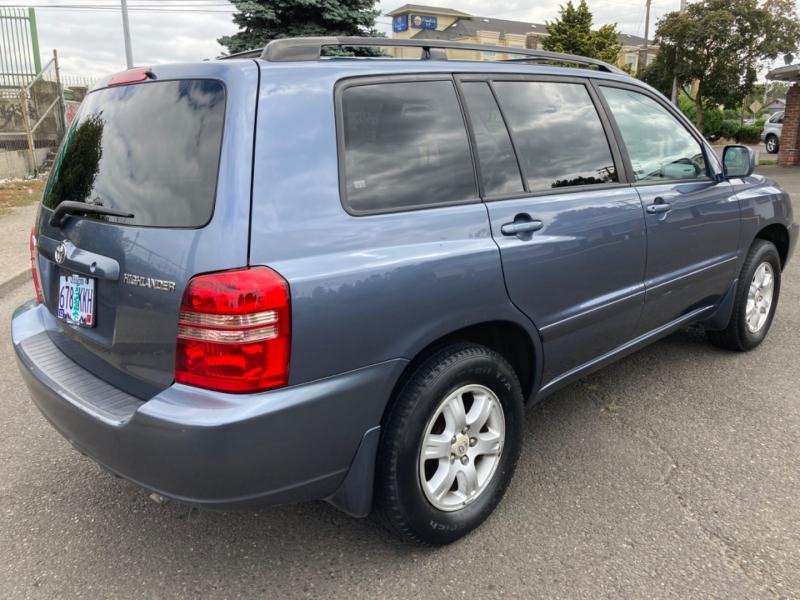 Toyota Highlander 2002 price $5,995