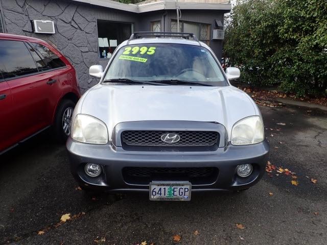 Hyundai Santa Fe 2003 price Call for Pricing.