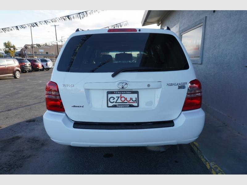Toyota Highlander 2002 price $6,995