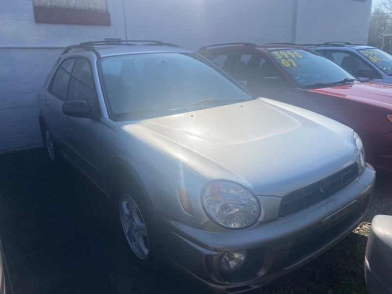 SUBARU IMPREZA 2002 price $4,990