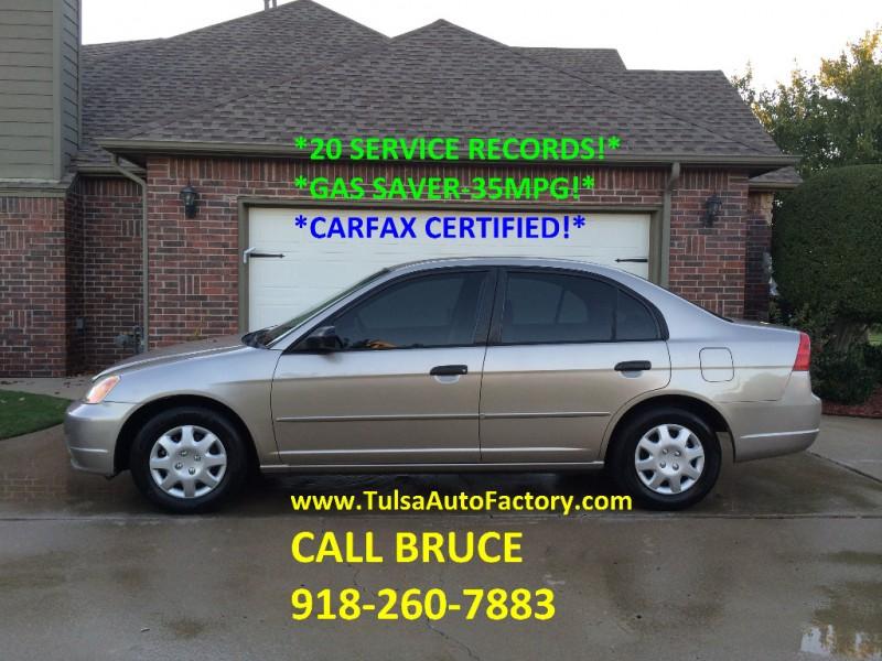 Honda Civic 2001 price $3,499