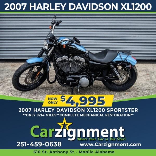 Harley-Davidson XL1200 2007 price $4,895