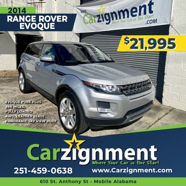 Land Rover Evoque 2014 price $20,995