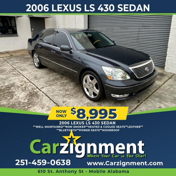 Lexus LS 430 2006 price $8,995