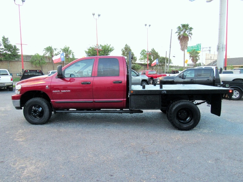 Dodge Ram 3500 SLT - 4X4 - Flat Bed - 5.9L Cummins! 2006 price $20,995