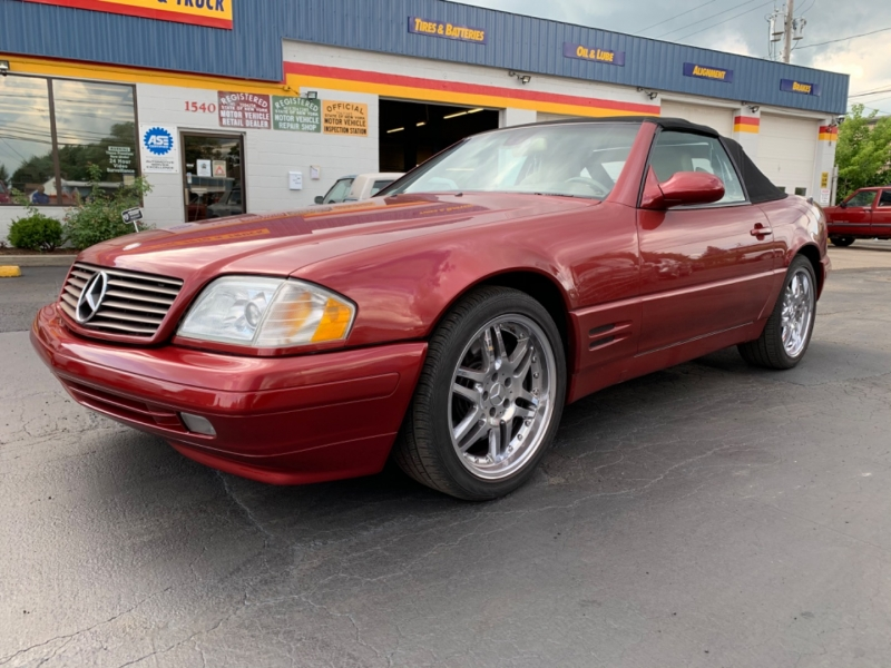 Mercedes-Benz SL500 1999 price $9,595