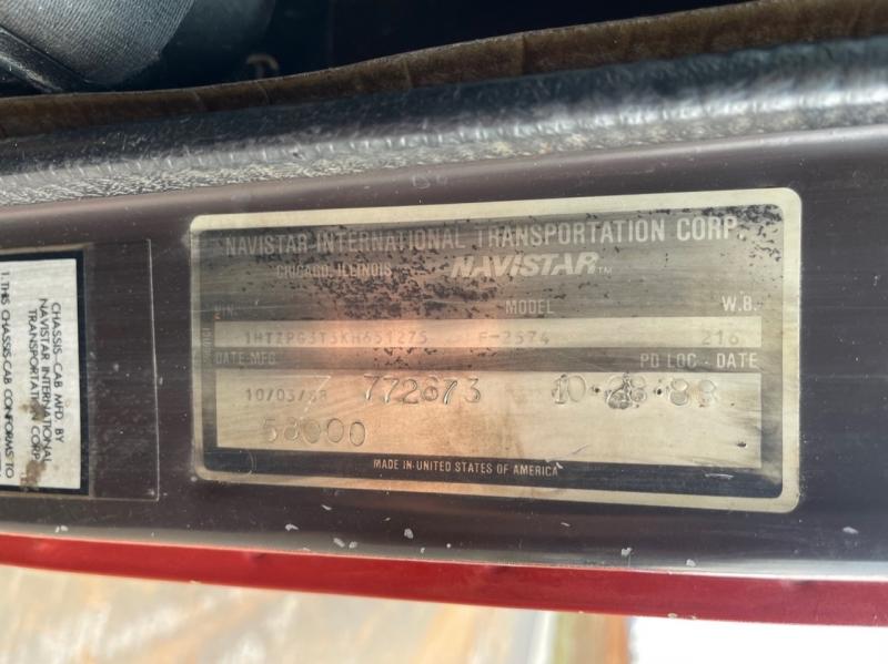 International F-2574 1989 price $26,000