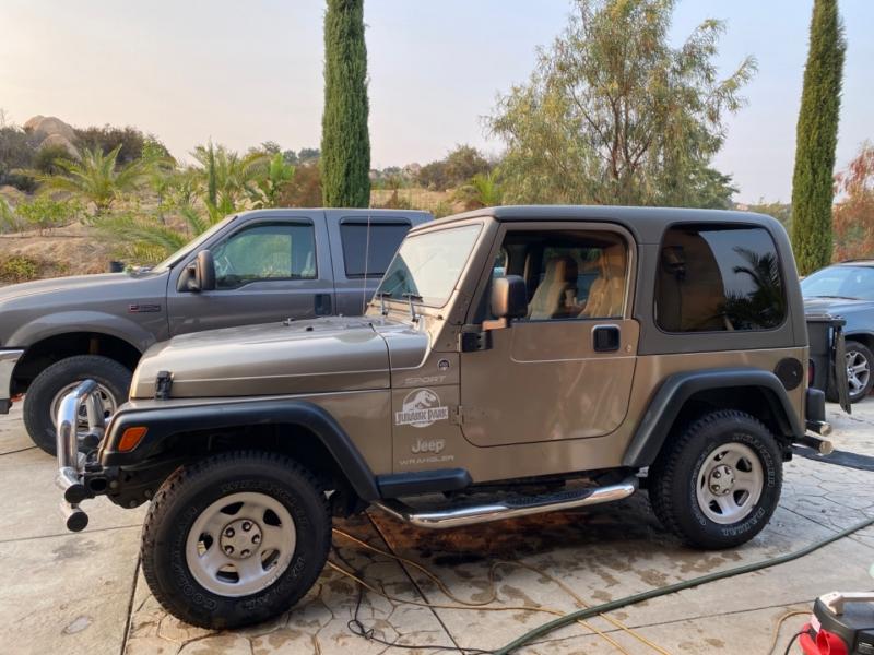 Jeep Wrangler 2004 price $12,995