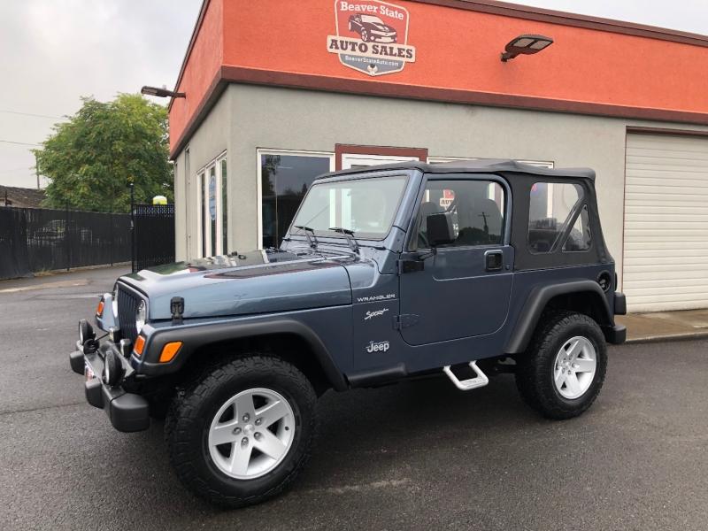 Jeep Wrangler 2002 price $11,880